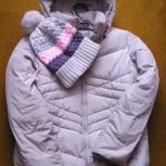 Женская куртка-пуховик в комплекте с шапочкой, Новосибирск