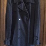 Мужское шерстяное пальто, р. 48, Новосибирск