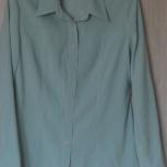Блуза-рубашка цвета мяты, р-46, Новосибирск