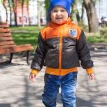 Куртка с теплым подкладом, для мальчика от 2-х до 6-ти лет, Новосибирск