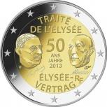 Франция 2 евро 2013 Елисейский договор, Новосибирск