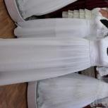 Свадебное платье с завышенной талией белое, Новосибирск