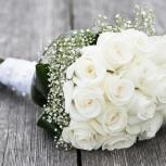 Цветы, букет невесты, доставка по КСМ, Новосибирск