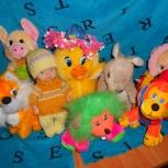 Продаю мягкие игрушки (пакетом), Новосибирск