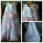продам детское платье на выпускной, Новосибирск