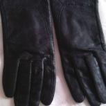 Перчатки кожаные демисезонные, Новосибирск