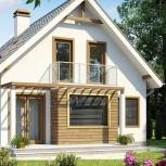 Деревянные щитовые и каркасно-щитовые дома, Новосибирск