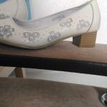 Продам девичьи натуральные туфли, Новосибирск