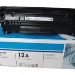 Продам заправленные б/у картриджи НР 2612, 436, 285, 278 Xerox, Samsun, Новосибирск