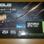 Видеокарта Asus GeForce GTX 760 2 Gb, Новосибирск
