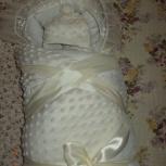 продам конверт-одеяло на выписку, Новосибирск