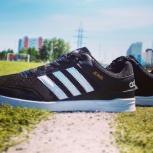 Классические кроссовки Adidas Jeans Black, Новосибирск