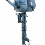 Корейский подвесной лодочный мотор mikatsu MF5HS 4т. 5 лет гарантии, Новосибирск