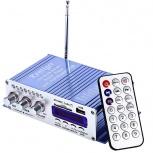 HY-502 USB FM Аудио Стерео Усилитель Радио MP3, Новосибирск