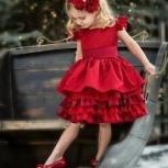 Детское платье с юбкой ярусами, Новосибирск