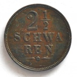 Бремен 2,5 шварен 1861, Новосибирск