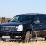 Cadillac escalade platinum (черный), Новосибирск