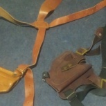 Кобура наплечная (кожа) holster, Новосибирск