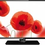 Новый ТВ 24'' (61см) Telefunken TF-LED24S38T2 LED 50Hz HD DVB-T2, Новосибирск