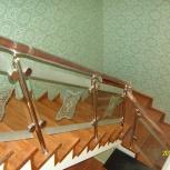 Изготовление деревянных недорогих лестниц под заказ, Новосибирск