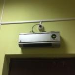 Тепло-вентилятор б/у рабочий, Новосибирск