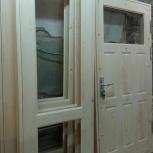 Дверь деревянная балкон или межкомнатная и веранды изготовим на заказ, Новосибирск