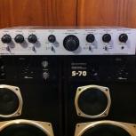 Усилитель Кумир-001 с колонками Радиотехника S-70., Новосибирск