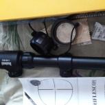 продам новый прицел 3 -9 -40 с подсветкой.с кольцами в упаковке, Новосибирск