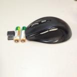 Продам мышь Oklick 404MW беспроводную с 2-мя аккумуляторами ААА в к-те, Новосибирск