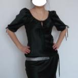 Черное атласное платье, Новосибирск