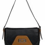 Эффектная сумка Franchesco Mariscotti натуральная кожа черная, Новосибирск