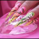 Наращивание ногтей гелем, Новосибирск