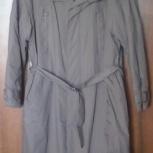 Плащ-пальто утеплённый на синтепоне мужской, Новосибирск