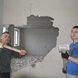 Демонтажные работы от слома стен, пола, до сноса домов, Новосибирск
