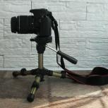 Новый компактный штатив Continent F1 для фото/видео камер, Новосибирск
