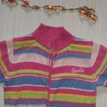 Продам детскую вязанную кофту на девочку, фирмы abhvs Вarbie, Новосибирск
