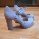 Продам замшевые туфли, Новосибирск
