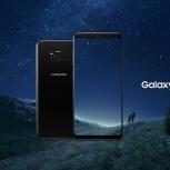 Новый смартфон  samsung galaxy s8+ 64gb black briliant, Новосибирск