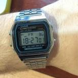 Наручные часы Casio с металлическим ремешком, Новосибирск