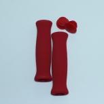 Ручки руля (грипсы) вело DUUTI красные, Новосибирск