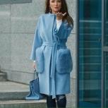 Пальто  с меховыми карманами, Новосибирск
