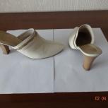 Продам сабо женские кожаные, Новосибирск