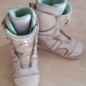 Продам ботинки сноубордические К2 с боа б/у, Новосибирск