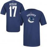 Новая детская футболка хоккей reebok NHL Vancouver Canucks Ryan Kesler, Новосибирск