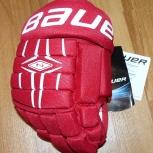 Новая хоккейная перчатка Bauer Nexus 400 jr правая, Новосибирск