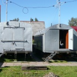 Продам передвижной б/у дом-прицеп  (армейский КУНГ), Новосибирск