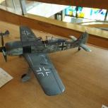 модель Fw 190 A -6, Новосибирск