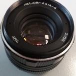 Объектив Гелиос 44М-4 + адаптенр Canon/, Новосибирск