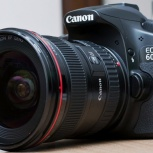 фотоаппарат Canon EOS 60D, EF17-40mm, 430EX2, Новосибирск