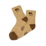 Теплые носки из шерсти верблюда и яка WoolSib, Новосибирск